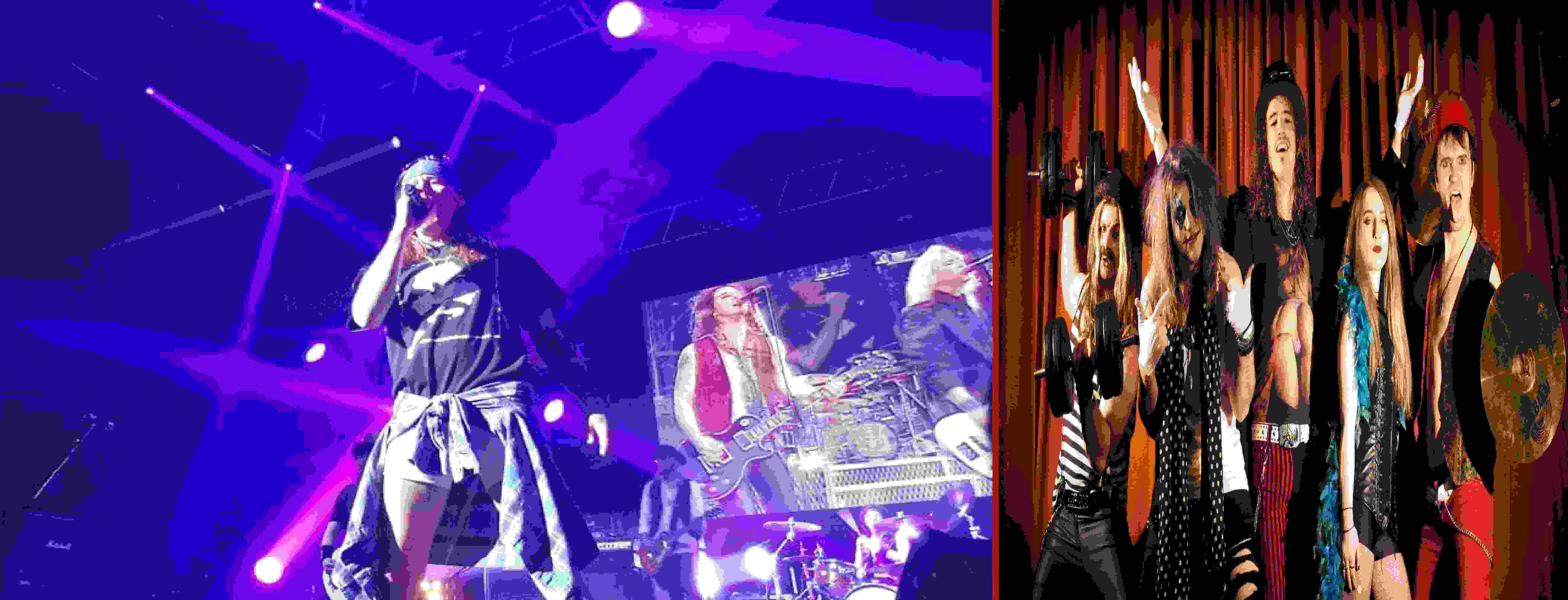 THE GUNS N' ROSES EXPERIENCE plus very special guests SAINTS OF SIN