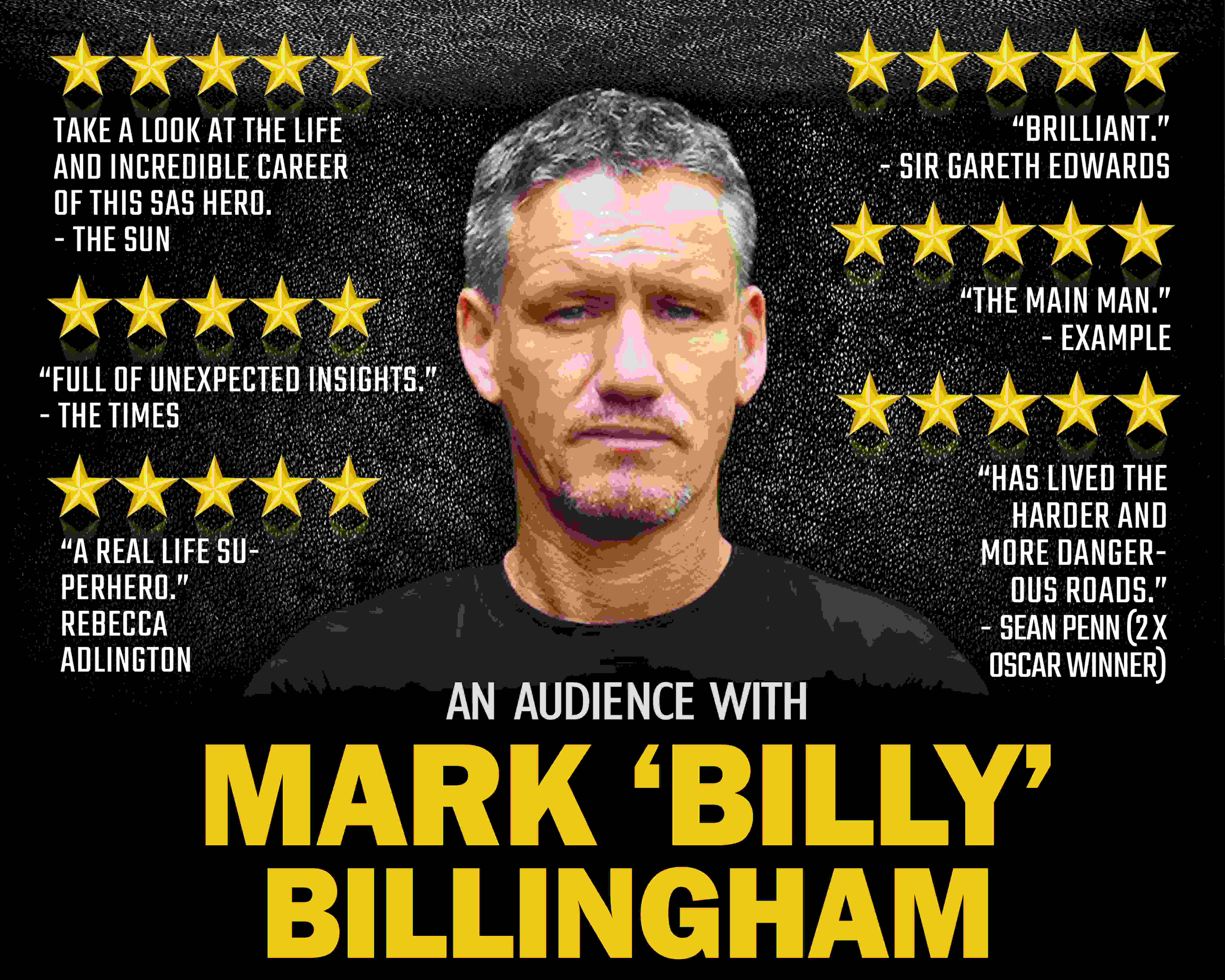 An Audience with Mark Billingham