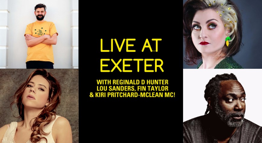 Live At Comedy - Reginald D Hunter, Lou Sanders, Fin Taylor & Kiri Pritchard-McLean