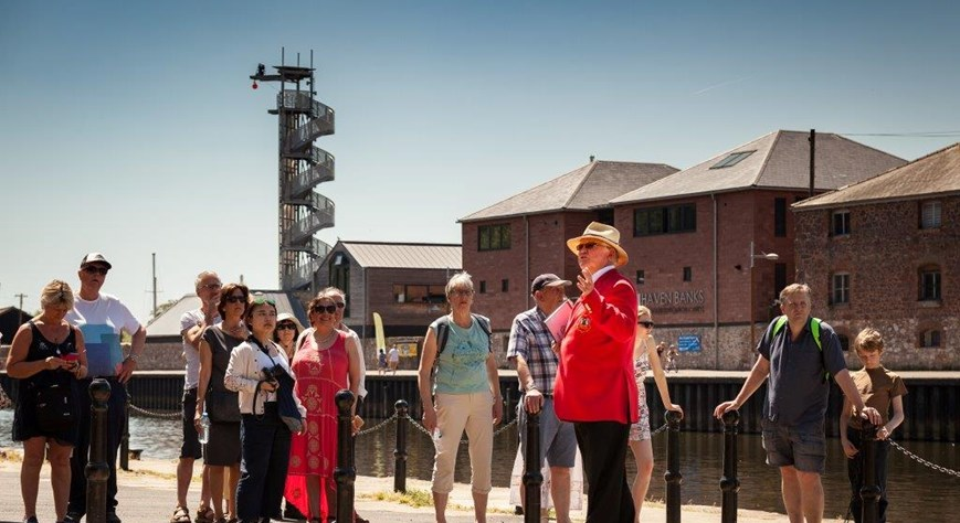 Red Coat Guided Tour: Medieval Exeter